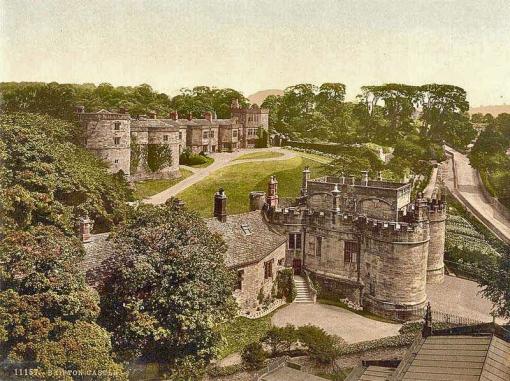 Yorkshire, Skipton Castle II 1900's01